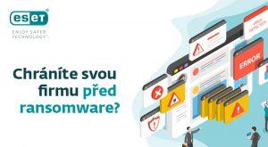 Infografika - Chráníte svou firmu před ransomwarem?