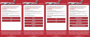Ukázka podvodné stránky s letenkami