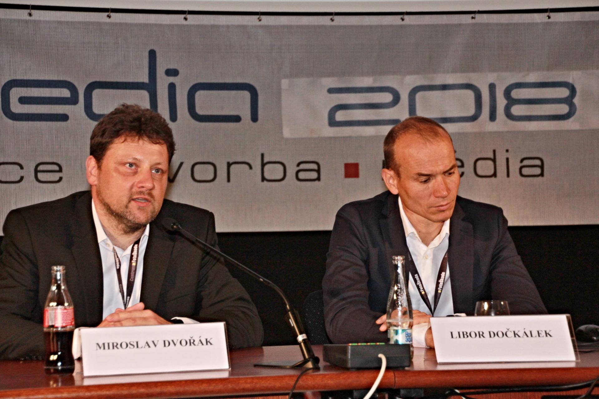 Miroslav Dvořák na konferenci Digimedia 2018