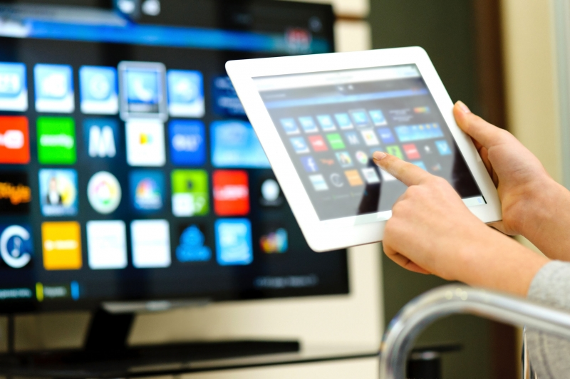 Ovládání chytré TV