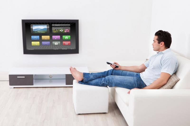 Domácnost s chytrou TV