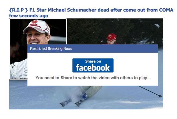 facebookový příspěvek