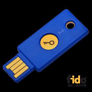 USB klíč pro přihláčení
