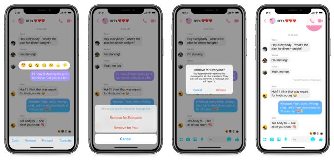 Nová funkce v Messengeru.