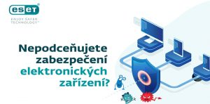 Infografika - Nepodceňujete zabezpečení elektronických zařízení?