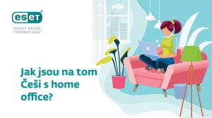 infografika - Jak jsou na tom Česi s home office?