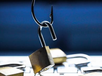 phishing odcizení hesel